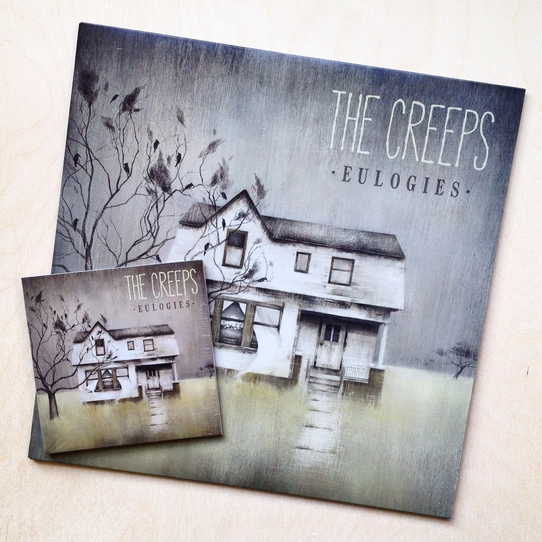 The Creeps: Eulogies, Album Art